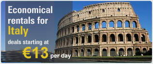 Economical Rentals for Italy