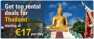 Get Top Rental Deals for Thailand